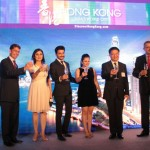 (L/R) Peter Hoslin Regional Director Europe & New Markets  HKTB, Dheeraj Dhoopar, Nehalaxmi Iyer, Anthony Lau, Executive Director, HKTB and Sunil Puri, Managing Director, Mileage Communication India Pvt. Ltd at the launch of the campaign