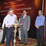 Anup K Chatterji, General Maanger & Principal, AIH&TM lighting the lamp