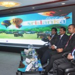 SriLankan Airline along with members from the tourism board and SLCB
