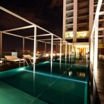 HolidayinnBangalore-rooftop-pool-evening