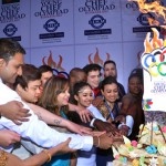 Lighting The Food Olympic Torch at YCO