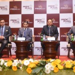 (From R/L) - Satyen Jain - CEO, The Pride Group of Hotels, S P Jain- Managing Director, The Pride,   Arun Nayyar-Executive Director, The Pride Group of Hotels, Pankaj Mathur-  General Manager, The Pride Plaza Hotel