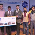 Zonal Winner Akshat C and Devansh K from Cambridge Court High School rec...