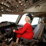 SYDNEY, AUSTRALIA - JUNE 30:  Singer Jessie J poses in the cockpit of a British Airways 777-300 on June 30, 2016 in Sydney, Australia.The singer-songwriter played an acoustic set for VIPs and competition winners to celebrate the arrival of summer in the UK.  (Photo by Mark Metcalfe/Getty Images for British Airways) *** Local Caption *** Jessie J