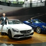 Mercedes-Benz MD and CEO Roland Folger during the launch of Mercedes 'AMG SLC 43' in New Delhi. (Photo: IANS)