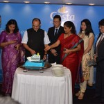 Costa Cruise spokesperson and Key dignitaries at the Costa Cruise Press Conference In Mumbai