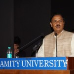 Chief Guest Dr. Mahesh Sharma, Union Minister for Tourism & Culture, Govt. of India sharing his views