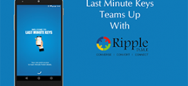 Last Minute Keys App teams up with Ripple DME for Online Marketing