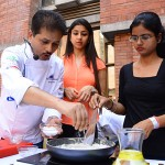 Chef is showcasing their skills at food for thoght fest 2015
