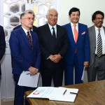 Memorandum of Understanding (MOU) was signed by  Dattaraj V. Salgaocar, Chairman of VMSIIHE and Luis Araújo, President of Turismo de Portugal, in the presence of the  Prime Minister of Portugal António Costa who is presently in Goa on a state visit.