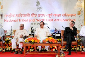 Dr. Mahesh Sharma inaugurates 'National Tribal and North East Art Conclave'