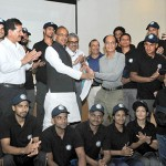 The Minister of State for Youth Affairs and Sports (I/C), Water Resources, River Development and Ganga Rejuvenation, Shri Vijay Goel flagging off a team of Mountaineers for Cleaning Himalayas, as part of Swachh Bharat Mission, in New Delhi. The Secretary, Ministry of Youth Affairs, Dr. A.K. Dubey is also seen.