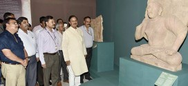 Dr. Mahesh Sharma inaugurates an Exhibition 'Return of the three stone Sculptures from Australia to India'
