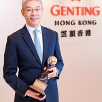 "Kent Zhu, President of Genting Cruise Lines represents Star Cruises to receive ""Asia's Leading Cruise Line 2017"" Award presented by World Travel Awards."