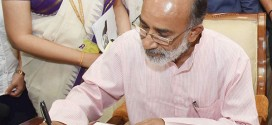 Alphons Kannanthanam assumes charge as Minister of State (IC) for Tourism