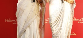 The Queen of Melody Asha Bhosle unveils her wax figure at Madame Tussauds Delhi
