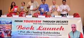 A New book by Gour Kanjilal launched in New Delhi