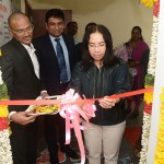 Her Excellency Ms. Krongkanit Rakcharoen, the Consul- General, Royal Thai Consulate-General inaugurating the new CKGS Thai Visa Application Centre in Chennai