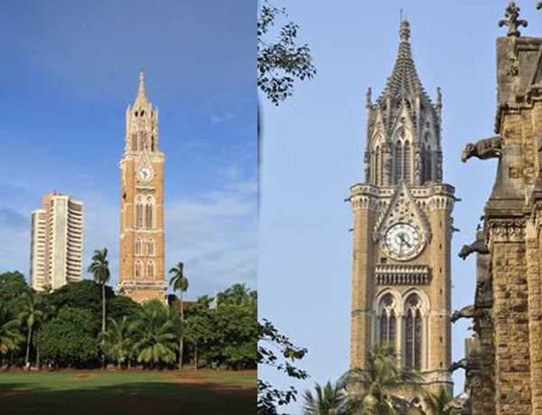 Rajabai Clock Tower as part of the Victorian Gothic and Art Deco Ensemble of Mumbai