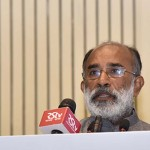 Mr. K. J. AlphonsMr. K. J. Alphons, Union Tourism Minister of State (I/C).