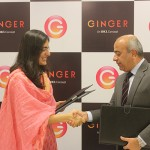 Deepika Rao, MD & CEO, Ginger Hotels and Brijesh Bhanote, Chief Marketing Officer, Paras Buildtech India Pvt Ltd