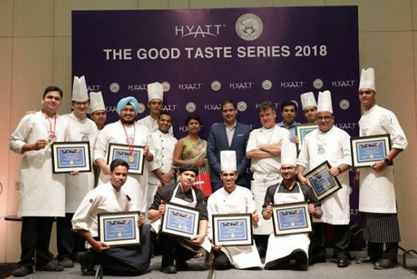 The Good Taste Series competition recognizes Hyatt's culinary talent at The Grand Hyatt Kochi