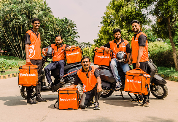 Foodpanda's delivery partners