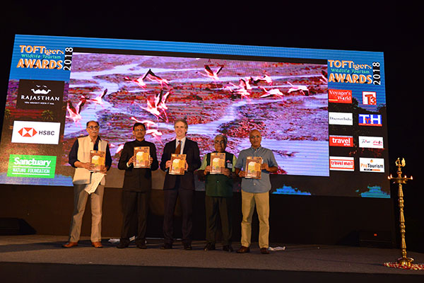 Launch of Ranthambhore report by Raghu Chundawat