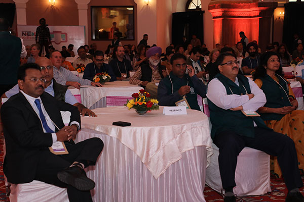(L to R) Mr. Hari Ranjan Rao (IAS), Principal Secretary Tourism and MD, MPTB and Mr. Suman Billa- Joint Secretary, govt of India, Ministry of Tourism